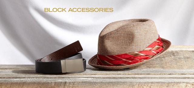 Block Accessories at MYHABIT