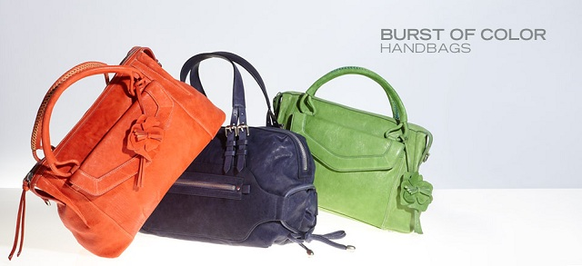 Burst of Color: Handbags at MYHABIT