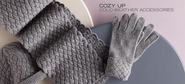 Cozy Up: Cold Weather Accessories at MYHABIT
