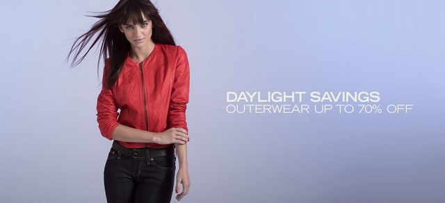 Daylight Savings: Outerwear up to 70% Off at MYHABIT