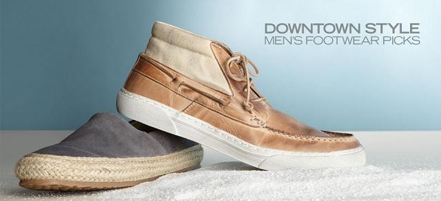 Downtown Style: Men's Footwear Picks at MYHABIT