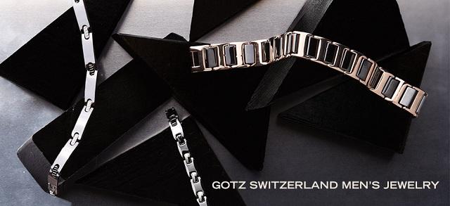 GOTZ Switzerland Men's Jewelry at MYHABIT