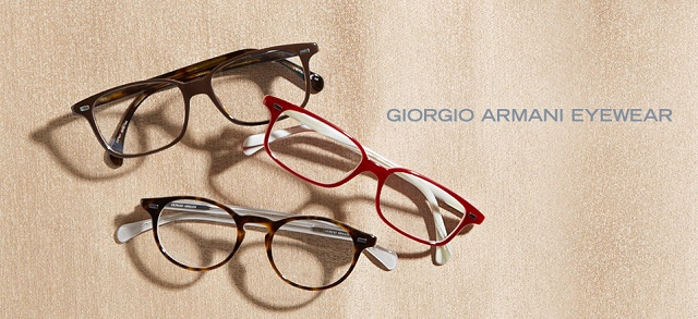 Giorgio Armani Eyewear at MYHABIT