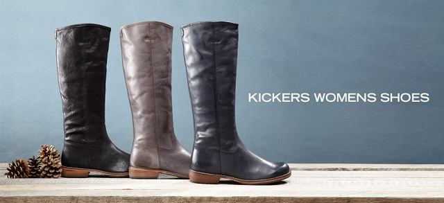 Kickers Women's Shoes at MYHABIT