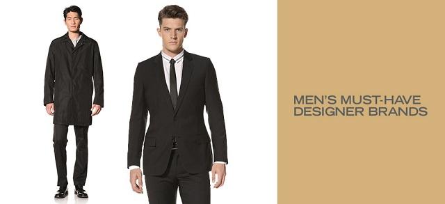 Men's Must-Have Designer Brands at MYHABIT
