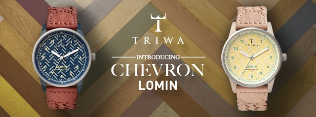 TRIWA Chevron Lomin Watches