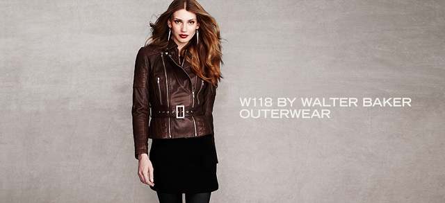 W118 by Walter Baker Outerwear at MYHABIT