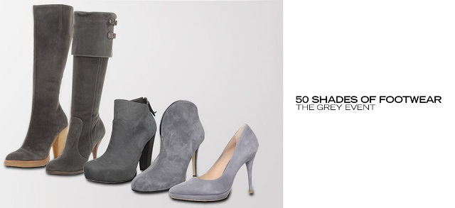 50 Shades of Footwear: The Grey Event at MYHABIT