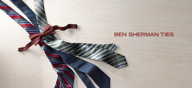 Ben Sherman Ties at MYHABIT