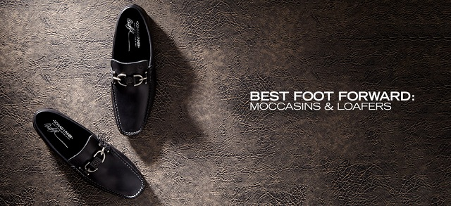 Best Foot Forward: Moccasins & Loafers at MYHABIT