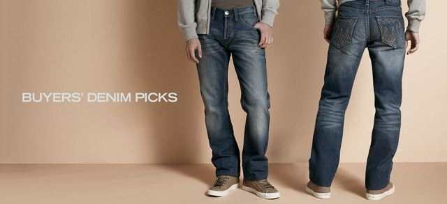 Buyers' Denim Picks at MYHABIT