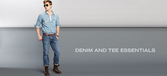 Denim and Tee Essentials at MYHABIT