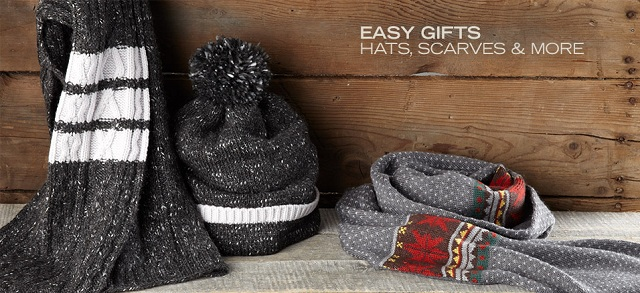 Easy Gifts: Hats, Scarves & More at MYHABIT