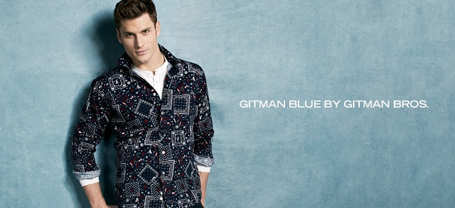 Gitman Blue by Gitman Bros. at MYHABIT