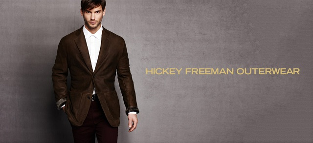 Hickey Freeman Outerwear at MYHABIT