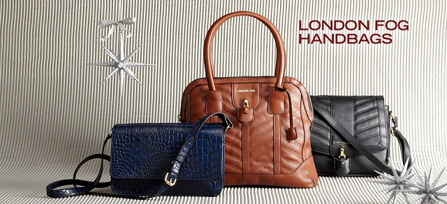 London Fog Handbags at MYHABIT