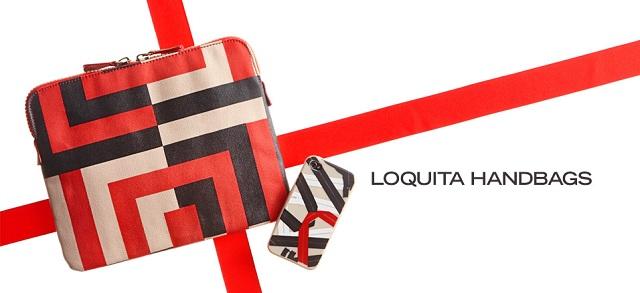Loquita Handbags at MYHABIT