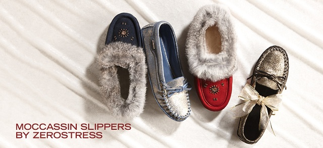Moccassin Slippers by Zerostress at MYHABIT