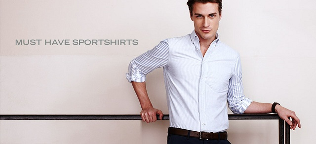 Must Have Sportshirts at MYHABIT