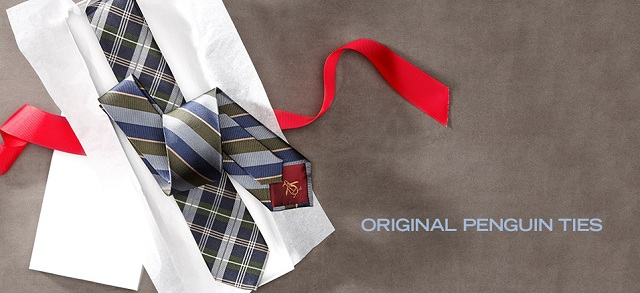 Original Penguin Ties at MYHABIT