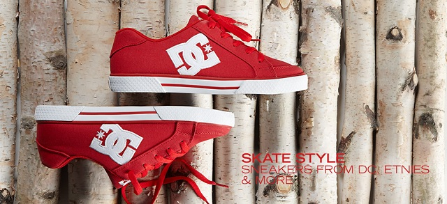 Skate Style: Sneakers from DC, Etnies & More at MYHABIT