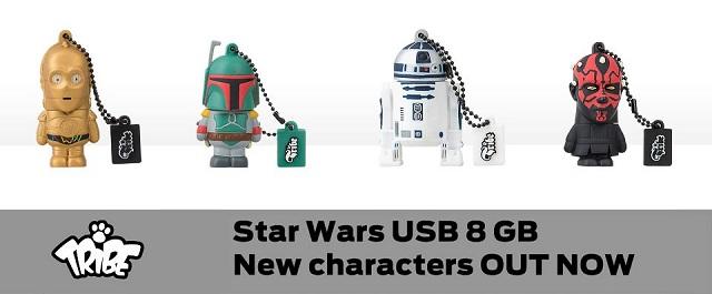 Tribe Star Wars USB Flash Drives_9