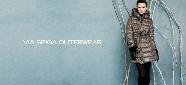 Via Spiga Outerwear at MYHABIT