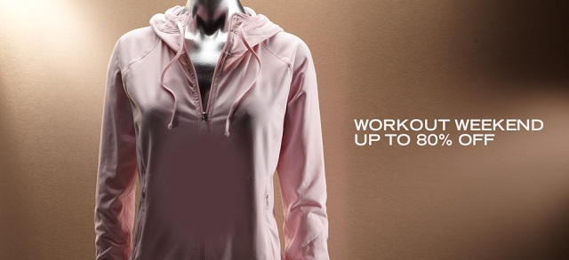 Workout Weekend Up to 80% Off at MYHABIT