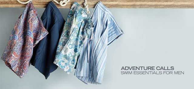 Adventure Calls: Swim Essentials for Men at MYHABIT