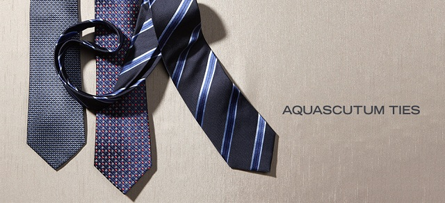 Aquascutum Ties at MYHABIT