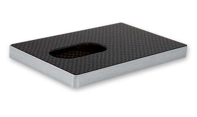 Cardissimo Carbon Fibre Card Case Gray_3