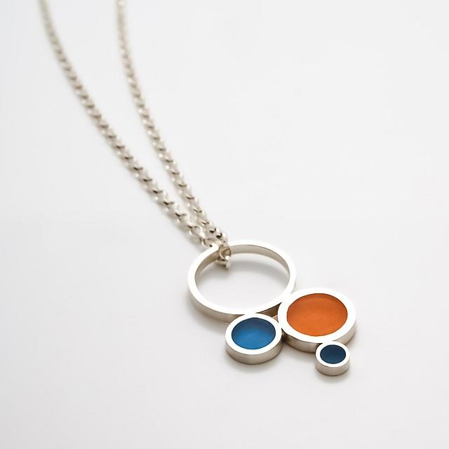 Filip Vanas / Silver & Epoxy Resin Pendant Ring