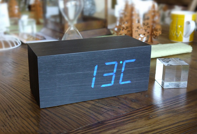 Gingko LED Large Alarm Click Clock_1