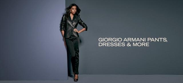 Giorgio Armani Pants, Dresses & More at MYHABIT