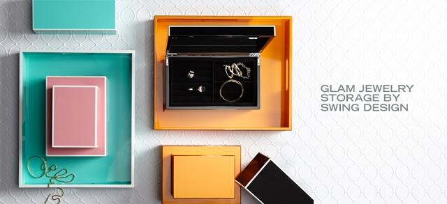 Glam Jewelry Storage by Swing Design at MYHABIT