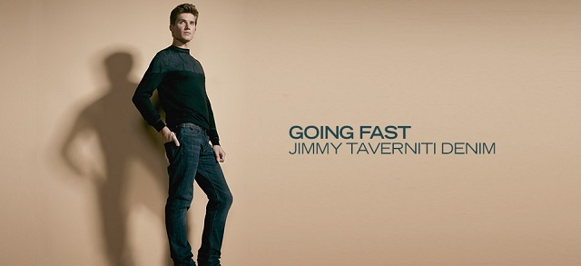 Going Fast: Jimmy Taverniti Denim at MYHABIT