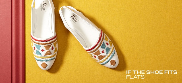 If the Shoe Fits: Flats at MYHABIT