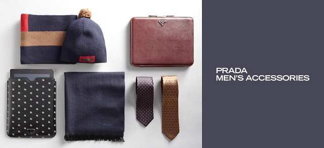 Prada Men's Accessories at MYHABIT