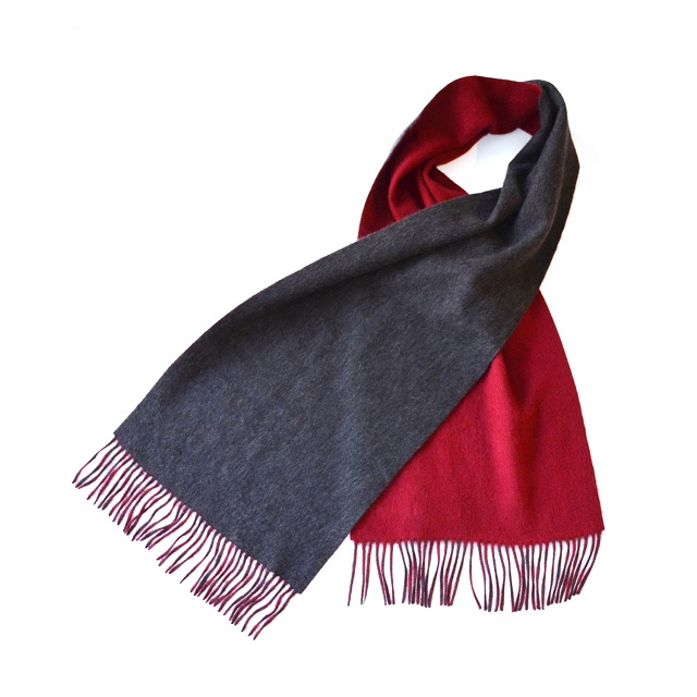 Qi New York Double Face Woven Scarf