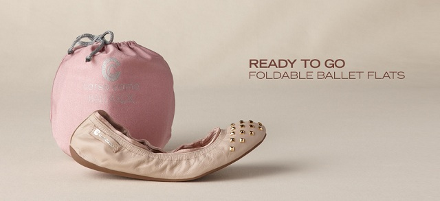 Ready to Go: Foldable Ballet Flats at MYHABIT