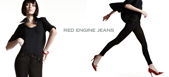 Red Engine Jeans at MYHABIT