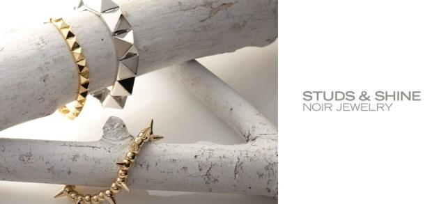 Studs & Shine: nOir Jewelry at MYHABIT