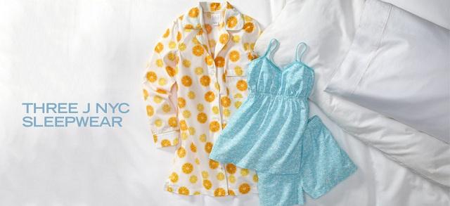 Three J NYC Sleepwear at MYHABIT