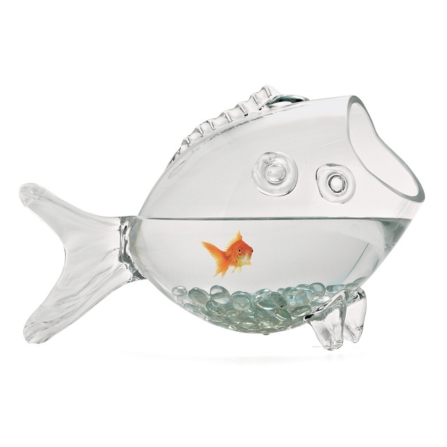 Torre & Tagus Fish Glass Bowl