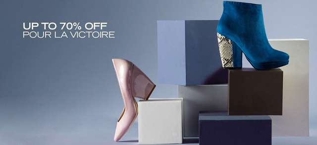 Up to 70% Off: Pour La Victoire at MYHABIT