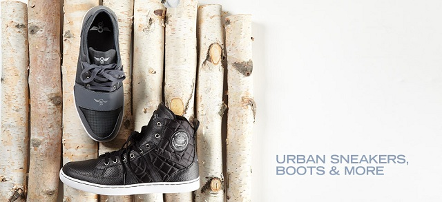 Urban Sneakers, Boots & More at MYHABIT