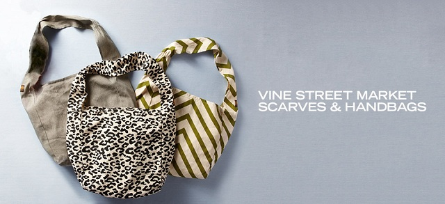 Vine Street Market Scarves & Handbags at MYHABIT
