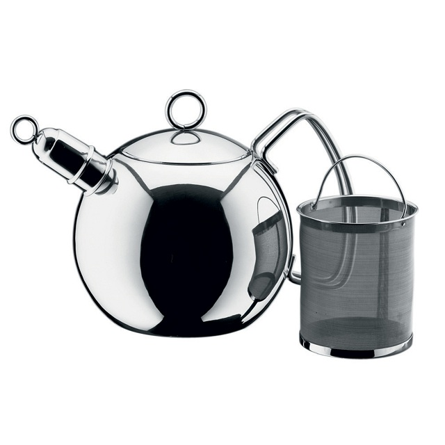 WMF Tabletop Ball Tea Kettle with Infuser
