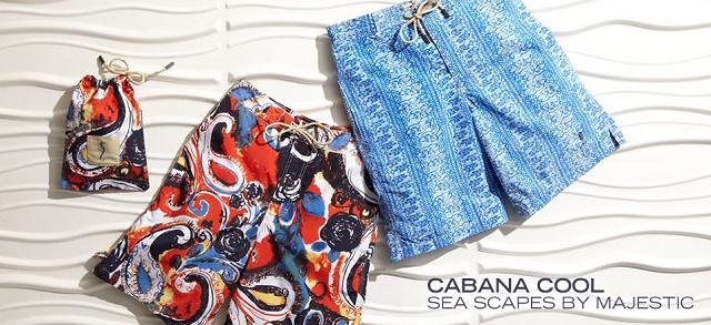 Cabana Cool: Sea Scapes by Majestic at MYHABIT