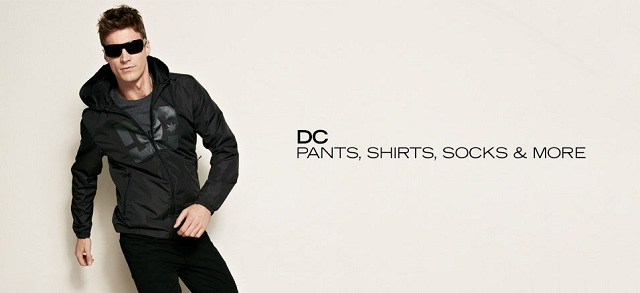DC: Pants, Shirts, Socks & More at MYHABIT